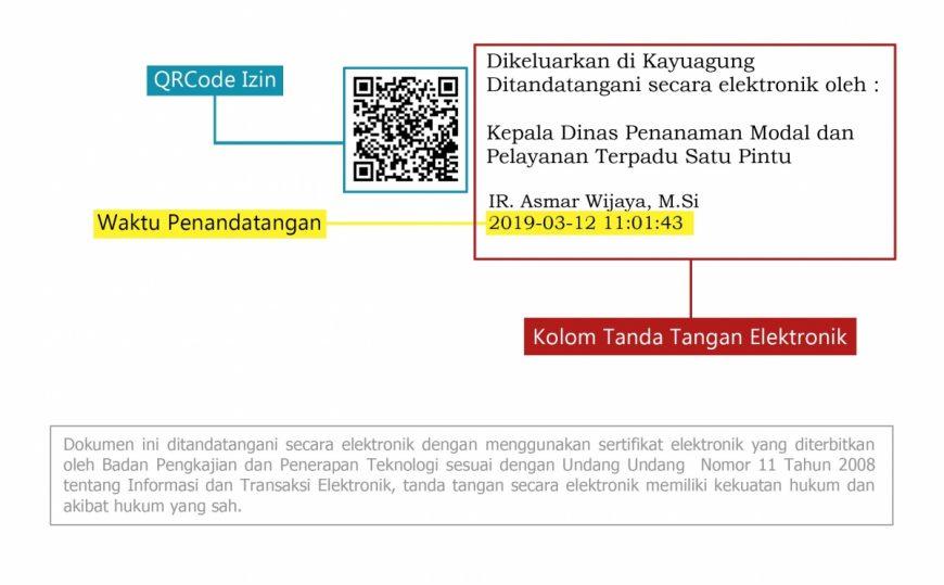 Penerapan Tanda Tangan Elektronik di DPMPTSP Kabupaten Ogan Komering Ilir