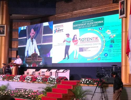 Launching Implementasi Penerapan Sertifikat Elektronik iOTENTIK di Lingkungan BPPT